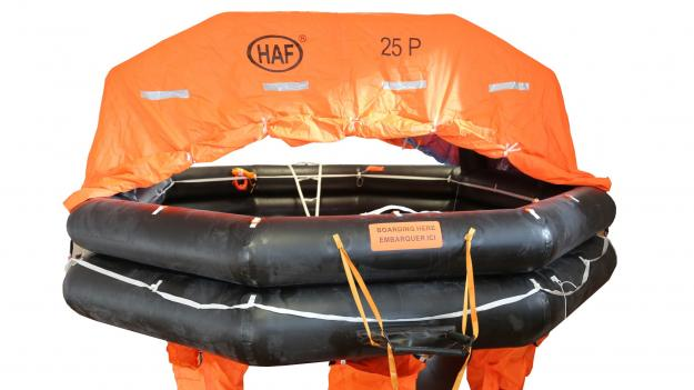 HAF Solas A Liferafts, Throwover & Davit Launch