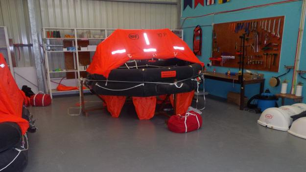 HAF Liferaft's Servicing 9 Pacific Nations